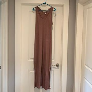 Striped Maxi Dress Size M